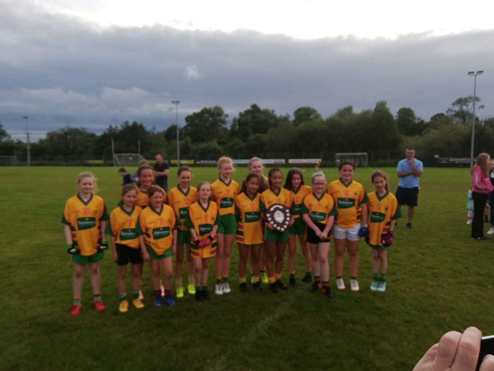 Ballinamore Under 12 Girls LGFA Shield Winners