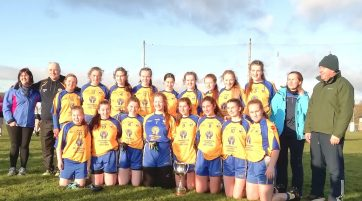 Glencar Manorhamilton U16 girls